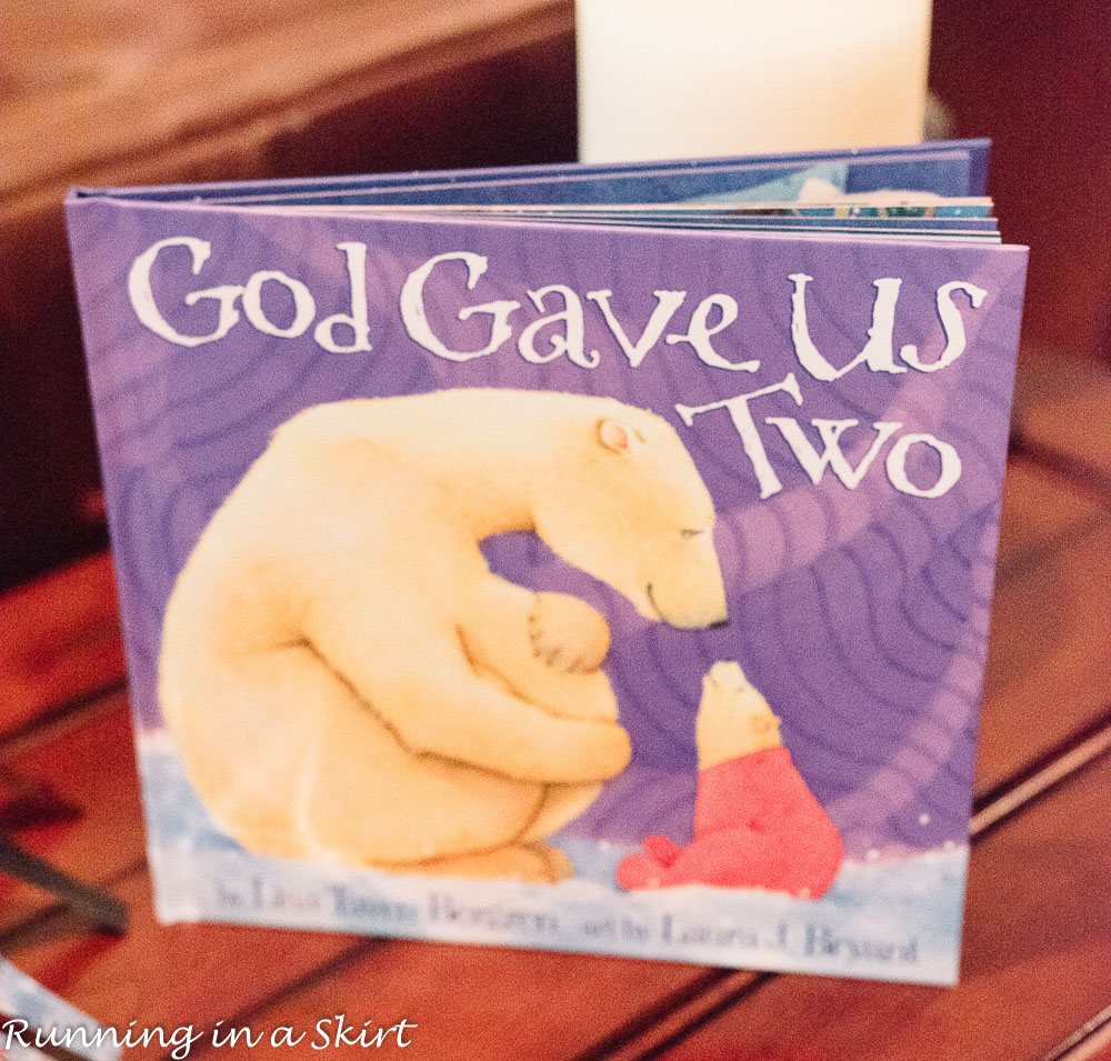 God gave us two book.