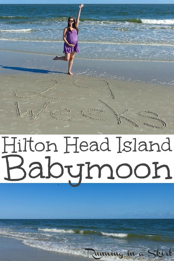 Hilton Head Island Babymoon Ideas - Things to Do and Restaurants to go to! A great inexpensive East Coast vacation for the best babymoon. Perfect for weekend getaways. Includes beach activities from Sea Pines, Palmetto Dunes and romantic meals. / Running in a Skirt via @juliewunder
