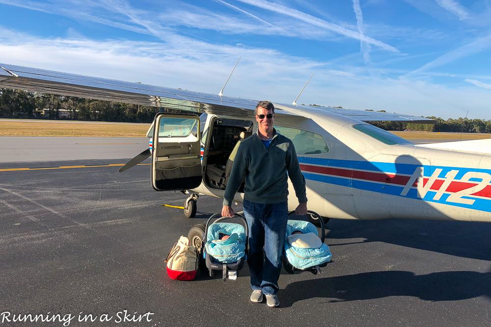 General Aviation flight to Hilton Head