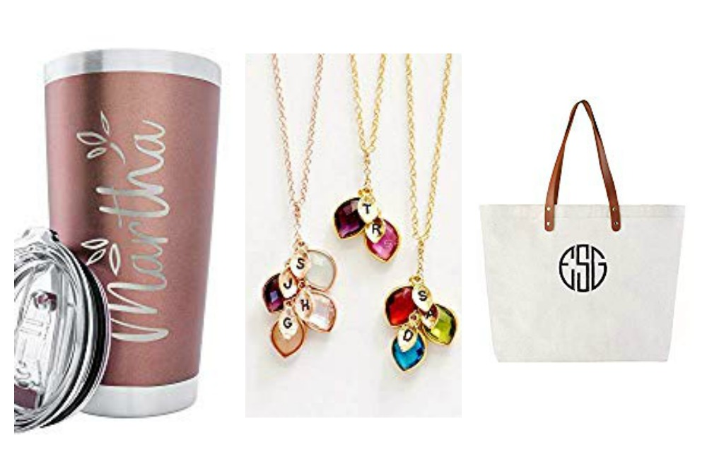 Collage of Mothers Day Gifts Amazon