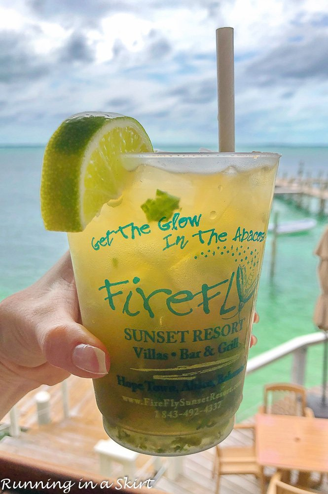 Mo tea to Cocktail at Firefly resort.
