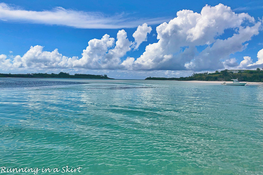 What to do in Hope Town Bahamas blue beaches.