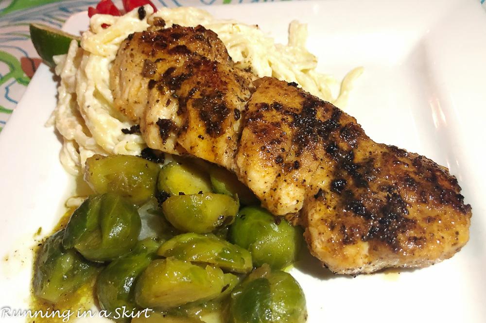 Grouper dinner at Abaco Inn
