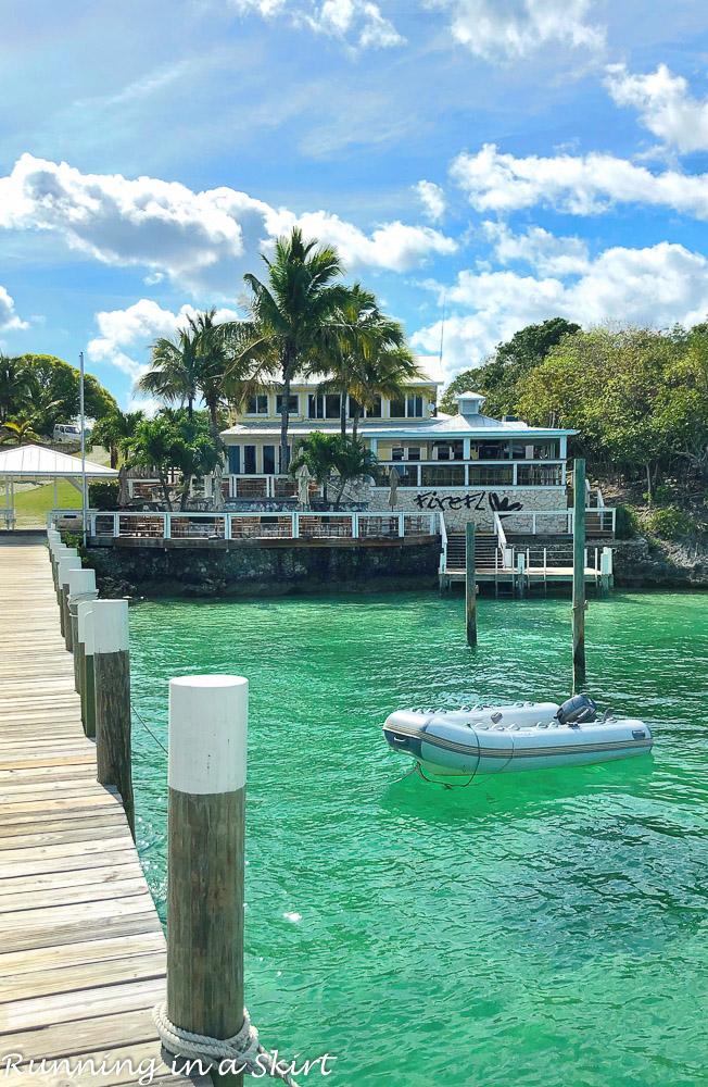 Firefly Resort on Elbow Cay in Hopetown Bahamas.