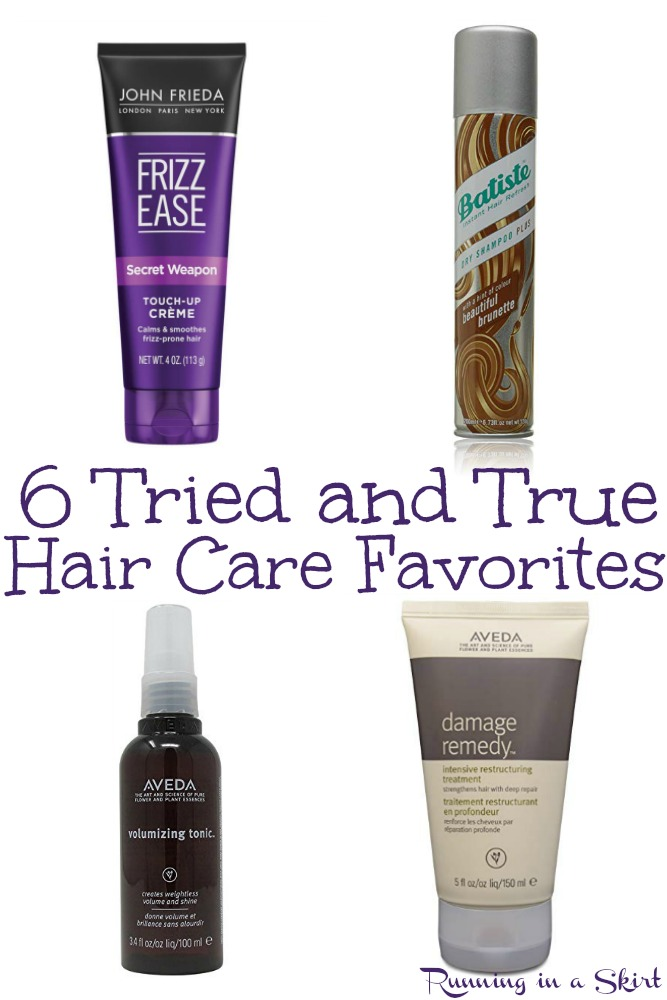 6 Tried and True Hair Care Favorites / Running in a Skirt via @juliewunder