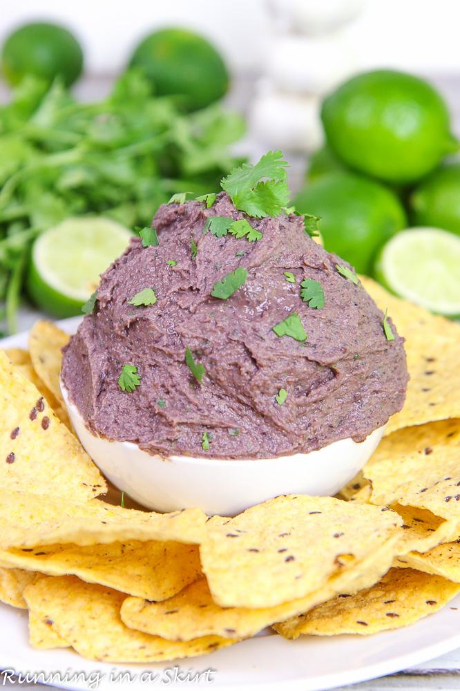 Healthy Black Bean Dip recipe