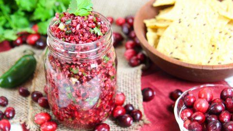 Fresh Cranberry Salsa recipe