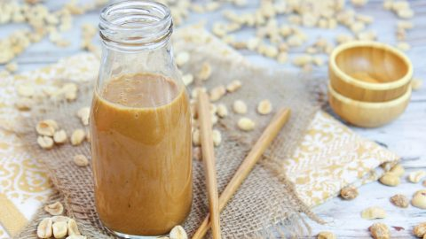 Healthy Thai Peanut Salad Dressing recipe