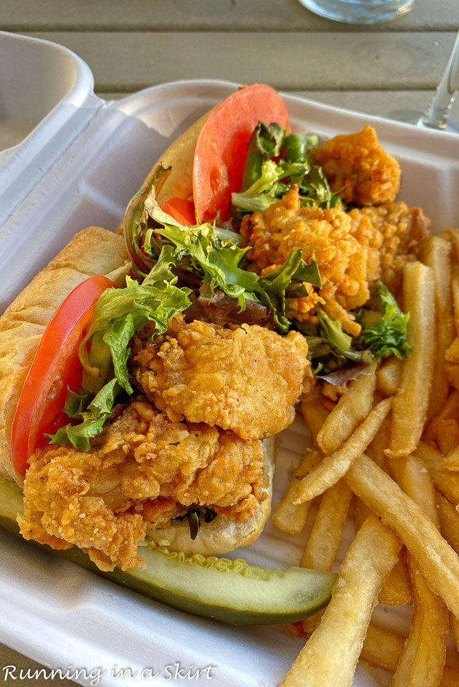 Sea Pines Delivery Oyster Po Boy