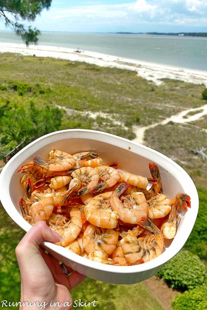 Hudson's Shrimp - Best Food in Hilton Head SC