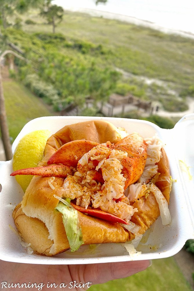 Marley's Shrimp and Lobster Roll