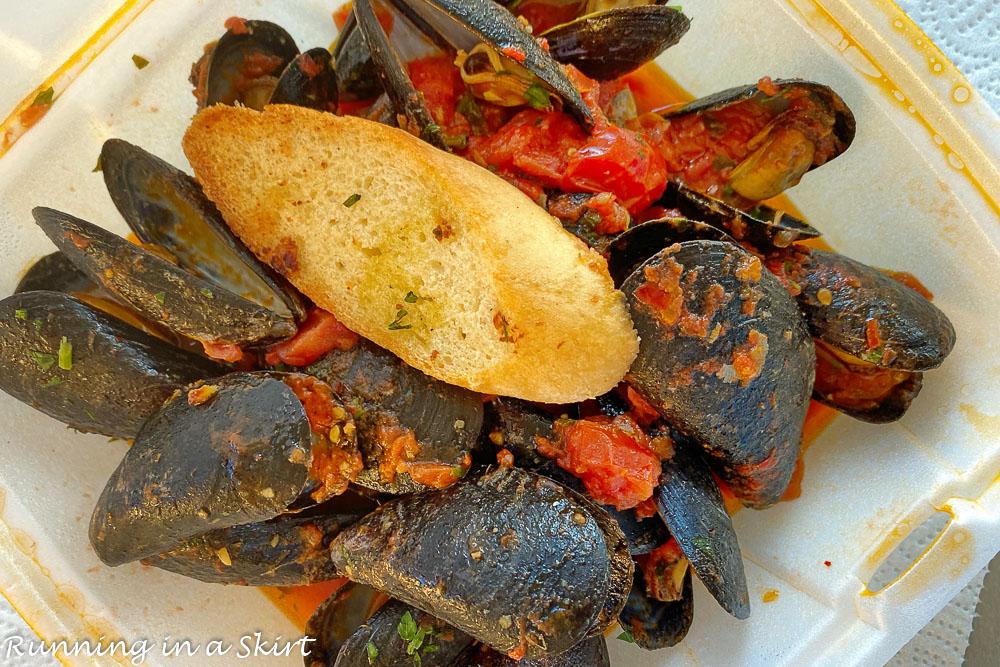 Best food in Hilton Head SC? OMBRA mussels
