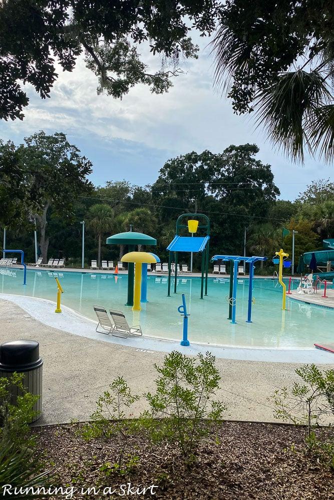 Toddler pool complex Kiawah Island.
