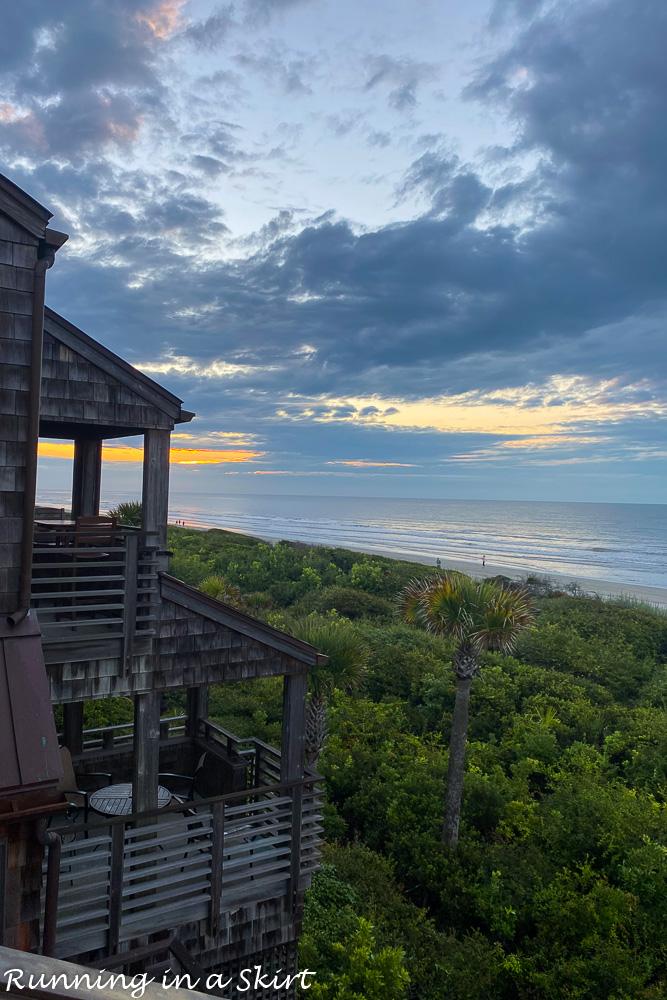 Sunrise on Kiawah Island South Carolina