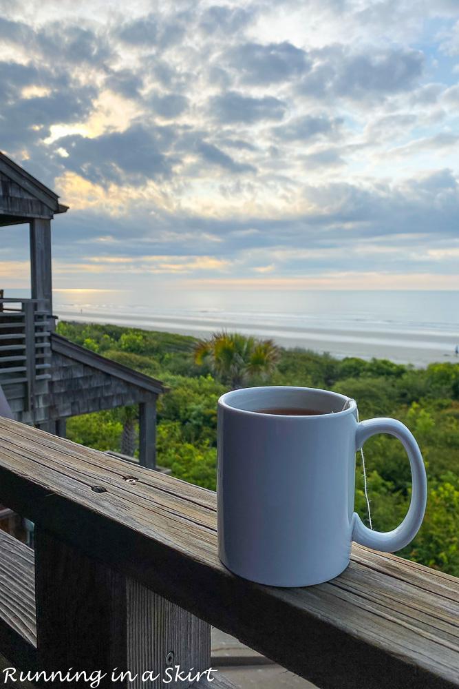 Things to do on Kiawah Island SC? Watch the sunrise!
