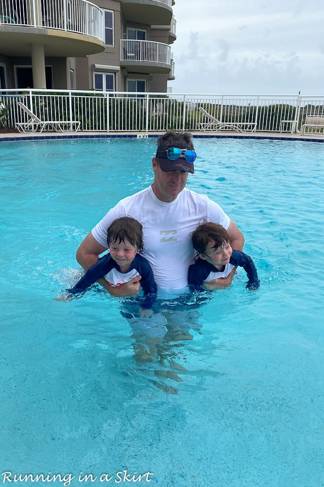 What to do in Amelia Island - visit the pools!
