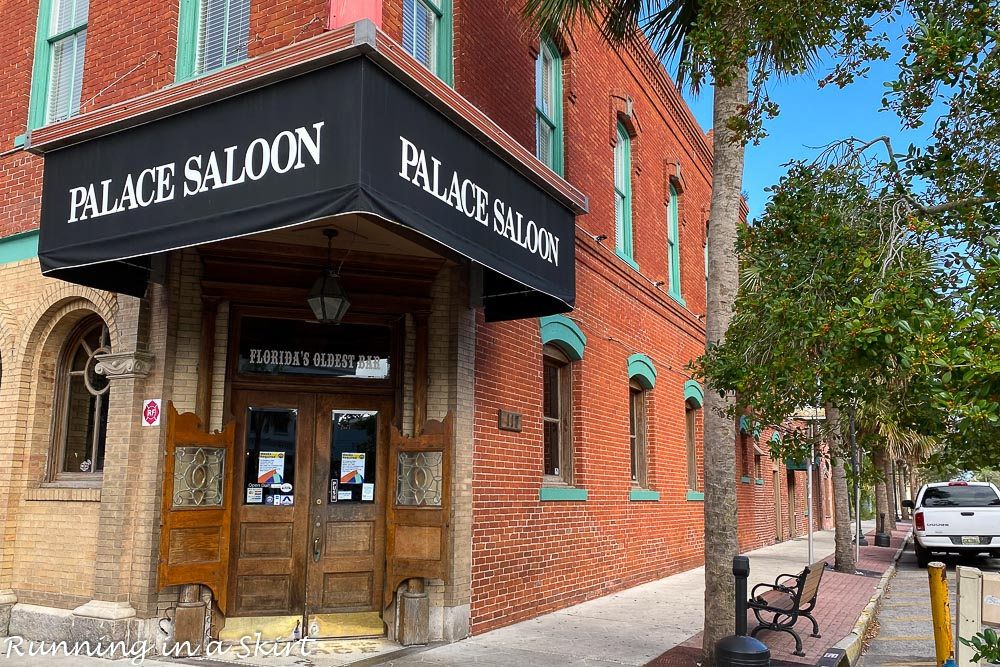 Palace Saloon.