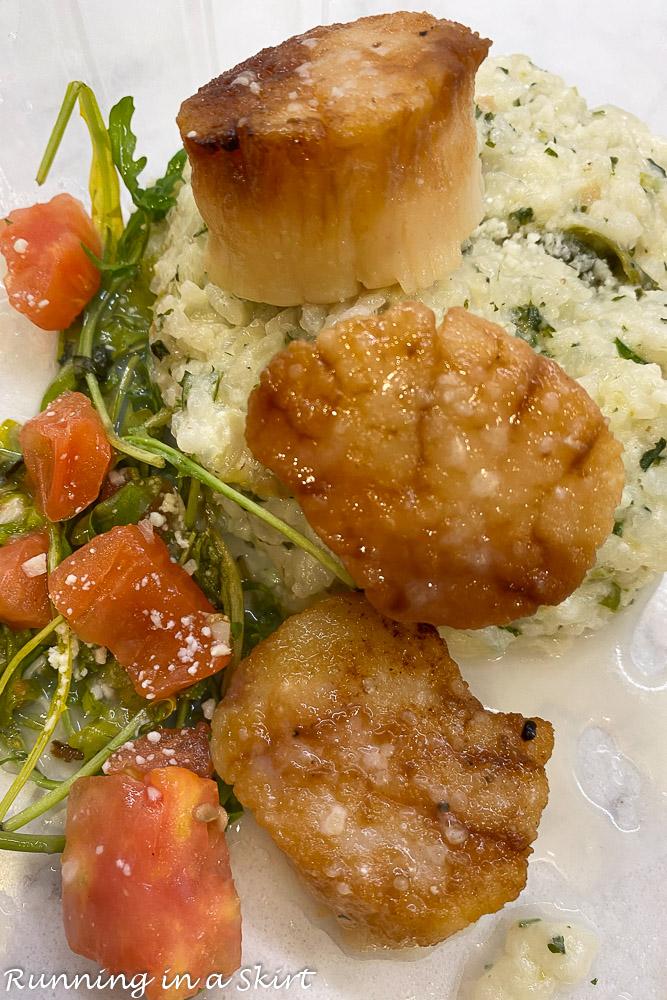Cucina South Scallops