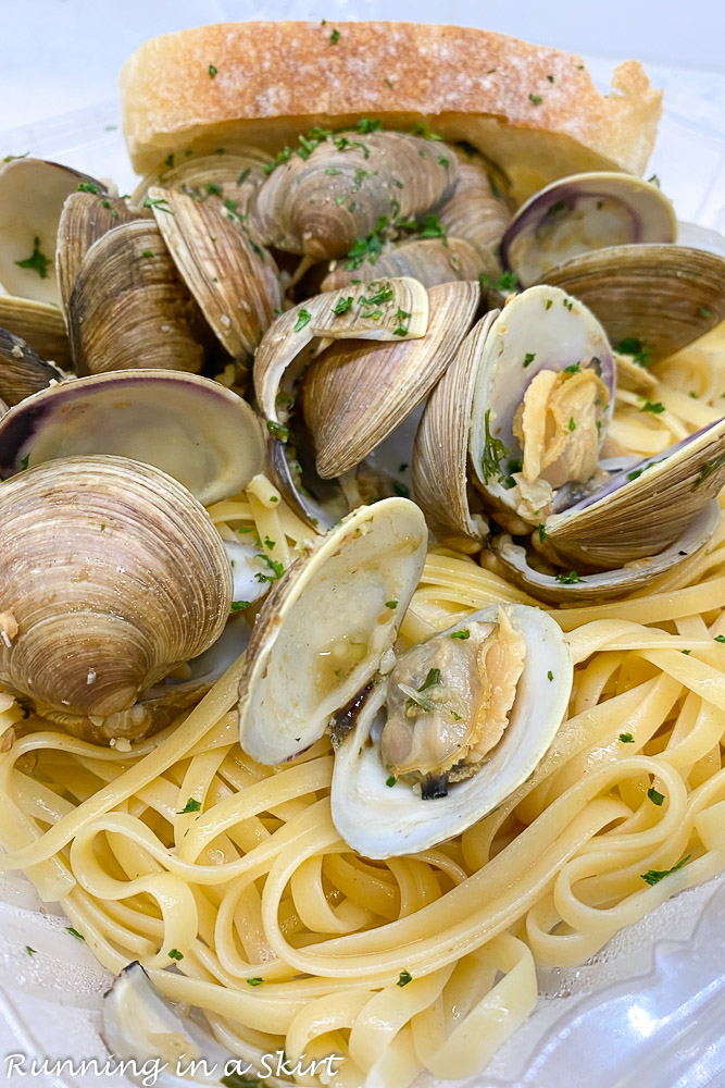 Cucina South clams