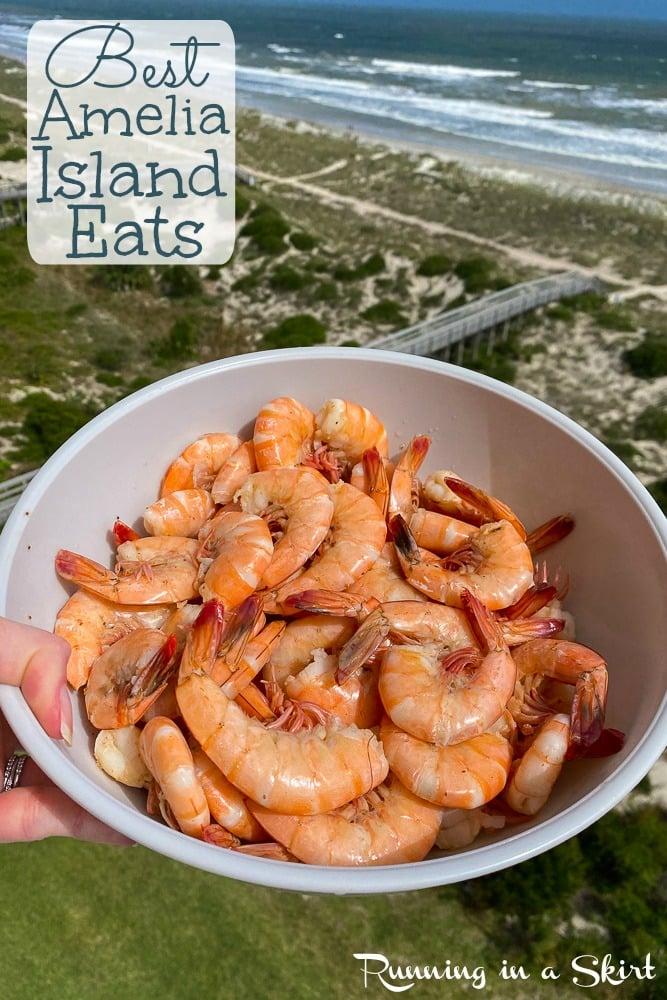 best Amelia Island restaurants pin