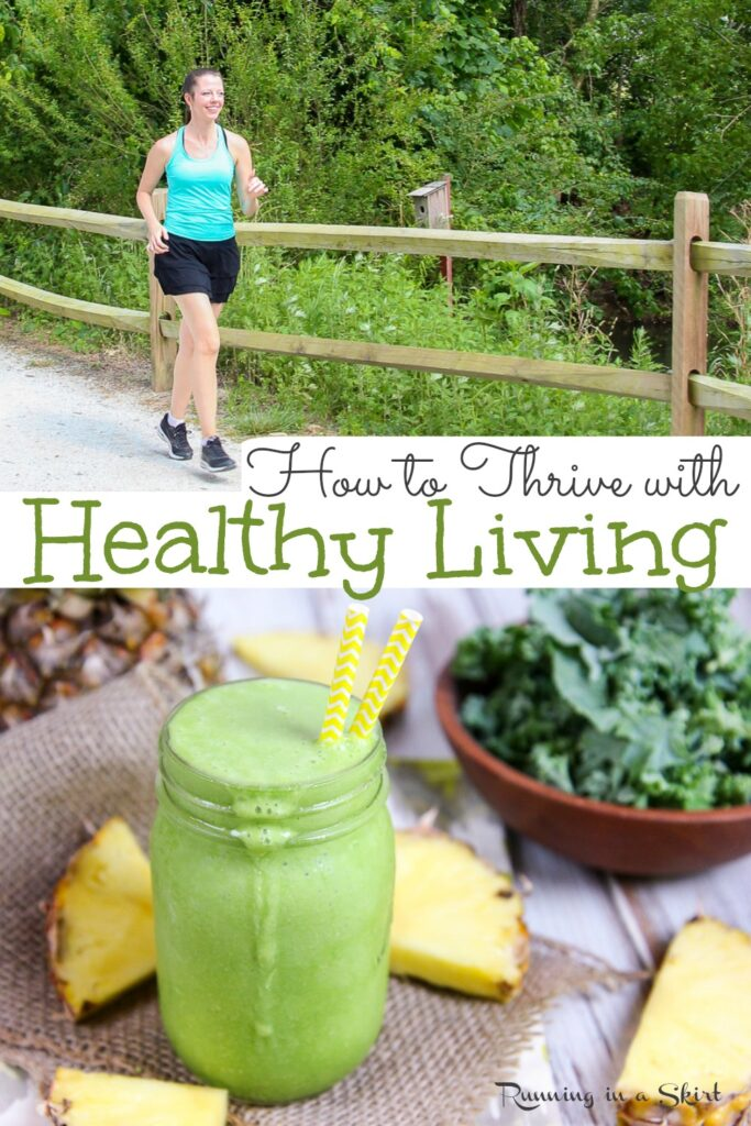 How to Start Living a Healthy Lifestyle Pinterest Pin
