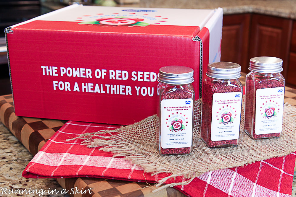 Box of Cranberry Seeds.