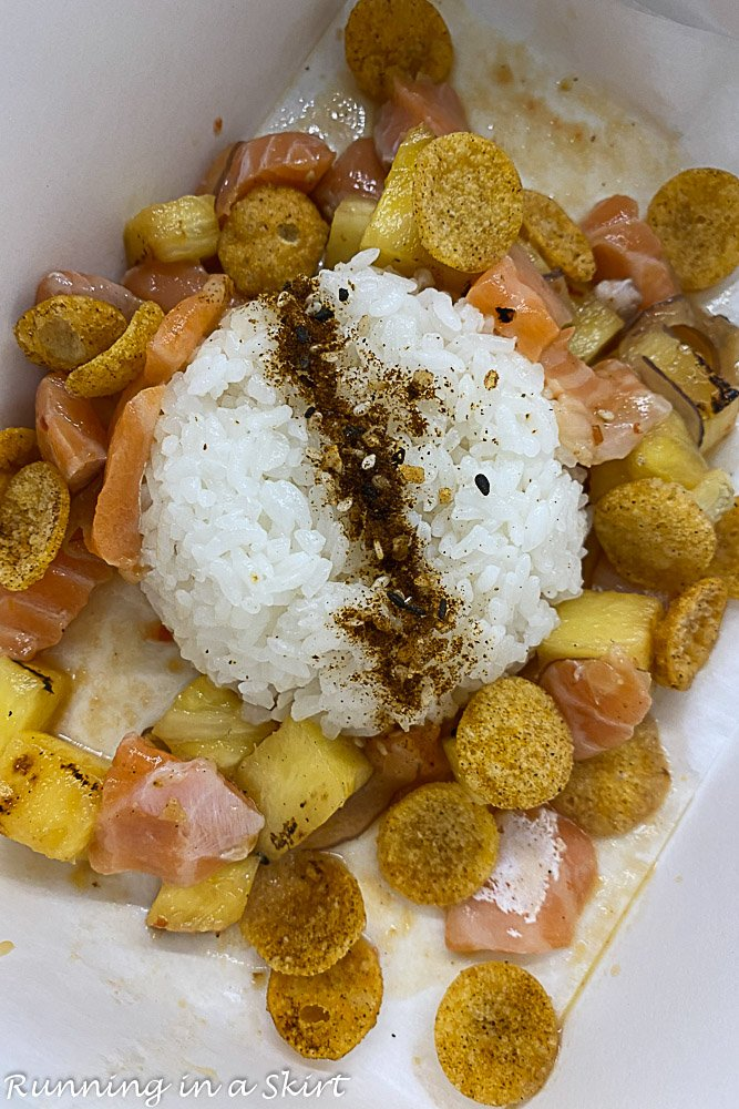 Salmon Poke from Pogo's Kitchen
