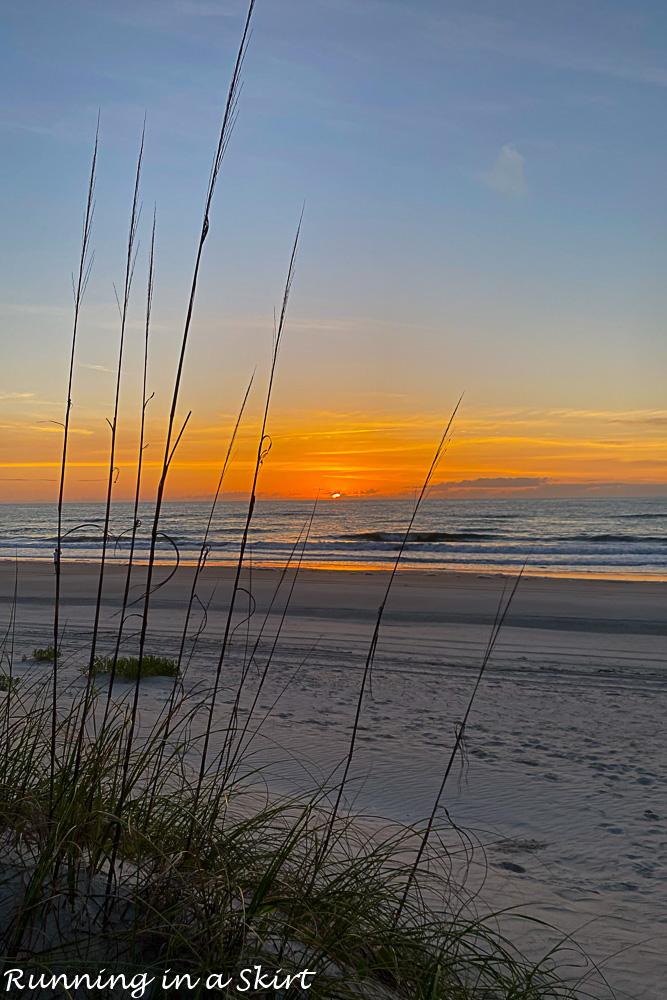 Sunrise Amelia Island Beach.