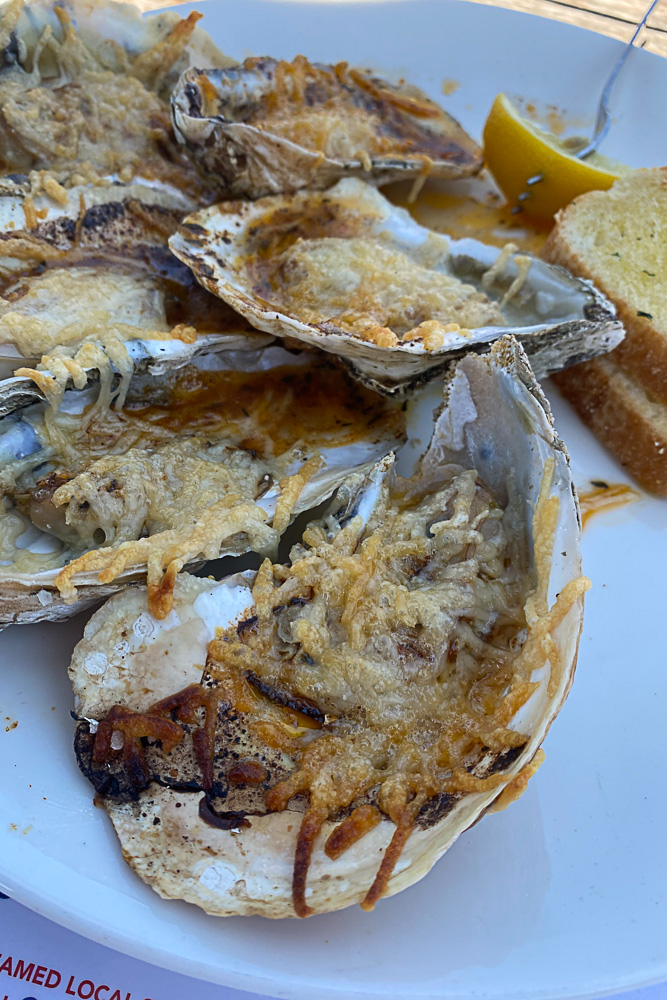 Hudson's Chargrilled Oysters