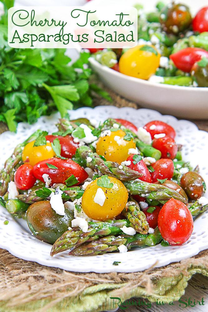 Asparagus and Tomato Salad pin