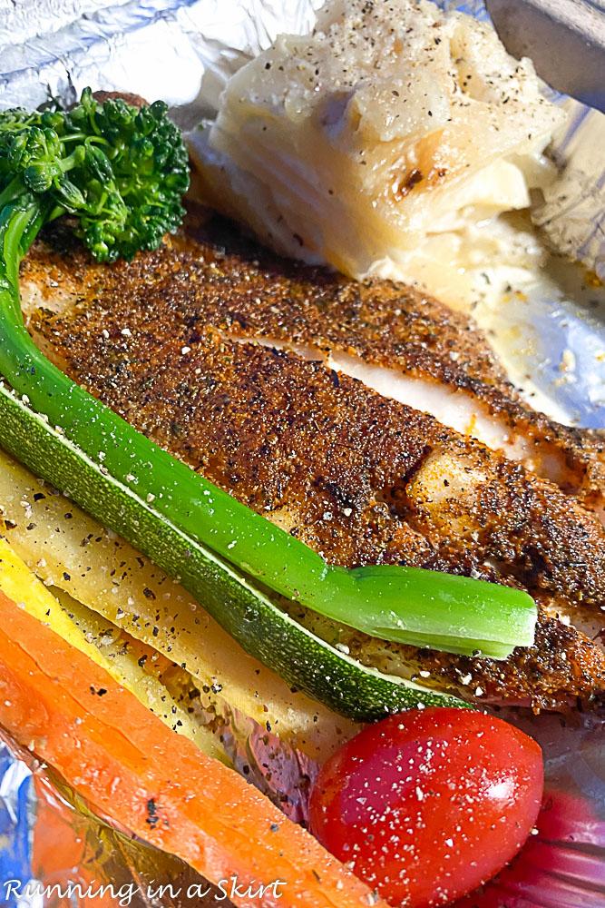 Hilton Head Island Travel Guide Food- Charlie's Blackened Fish