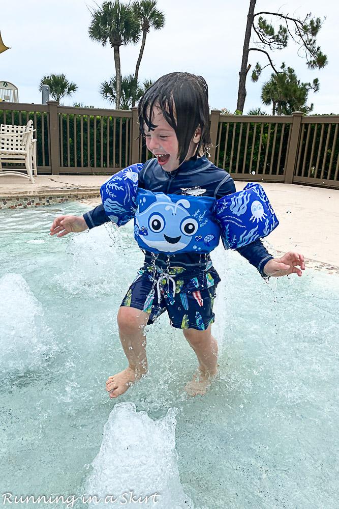 Hilton Head Island pools.