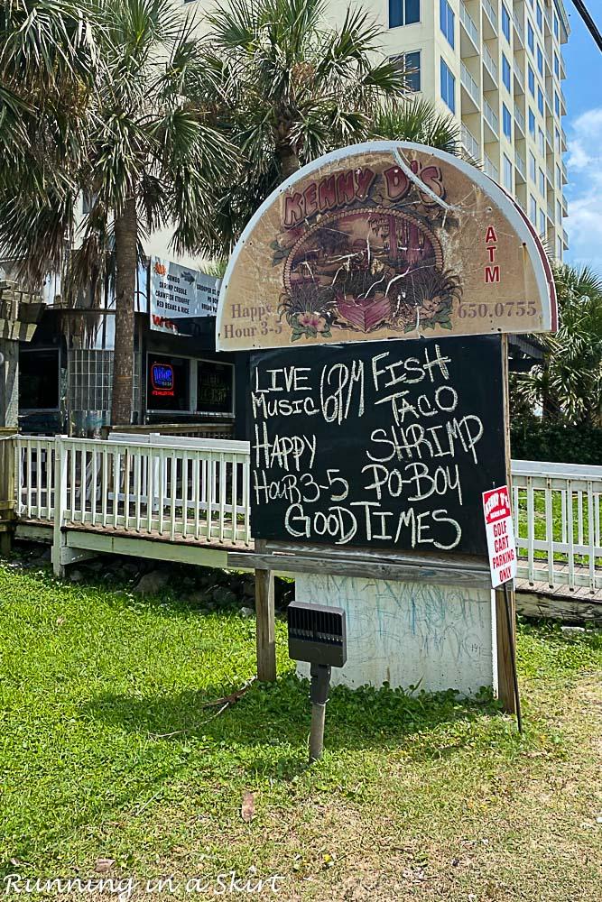 Best restaurants in Destin FL - Kenny D's exterior photo