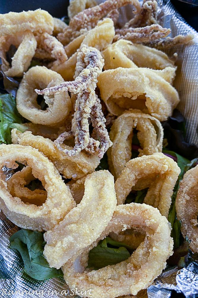 Best restaurants in Destin FL- Mimmo's Calamari