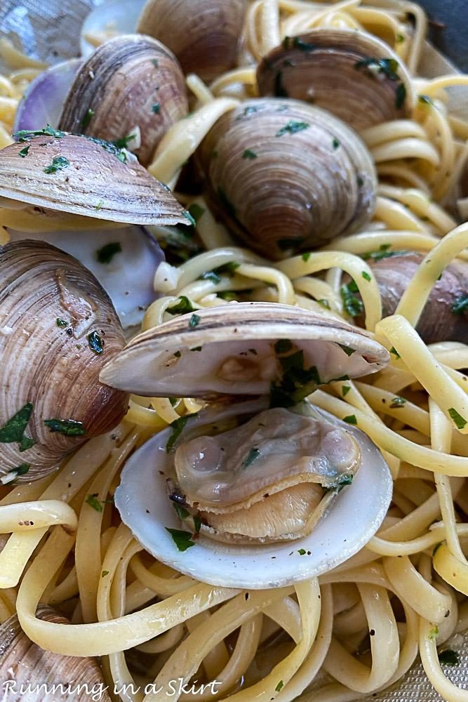 Mimmo's Clam Pasta