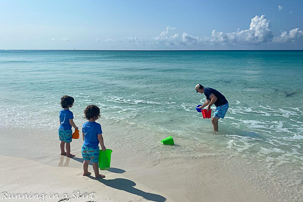 Photo of Destin beaches with family.