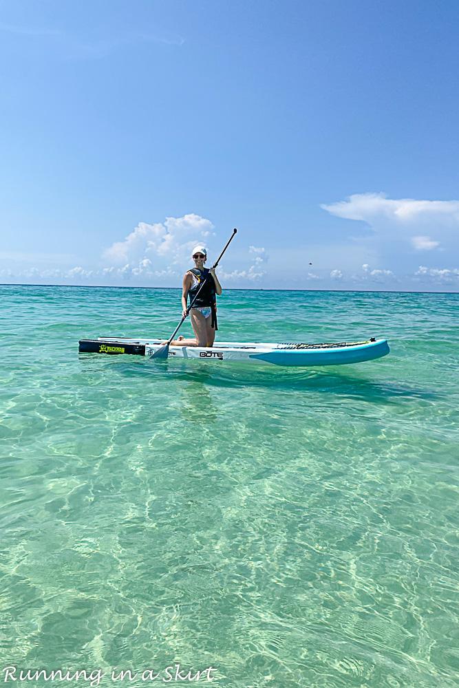 Destin Florida Paddle boarding