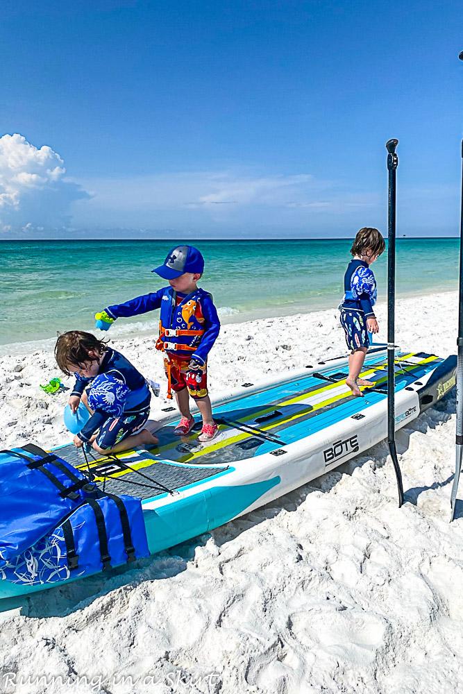 Destin Florida Paddle boarding.