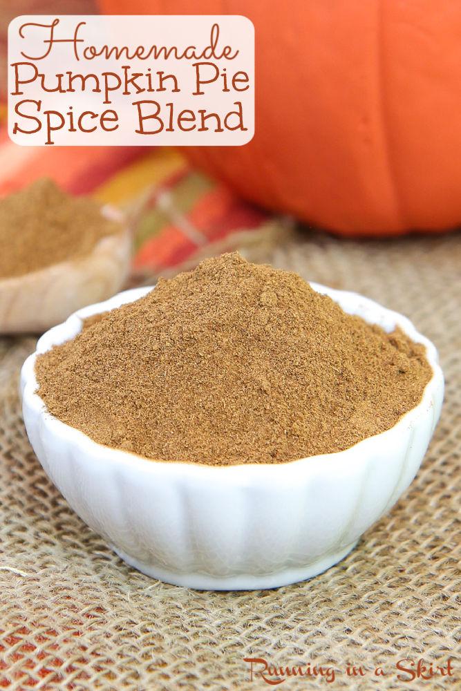 Homemade Pumpkin Pie Spice Recipe Pinterest pin.