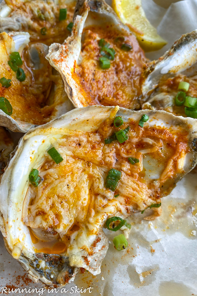 Cajun Oysters from The Half Shell