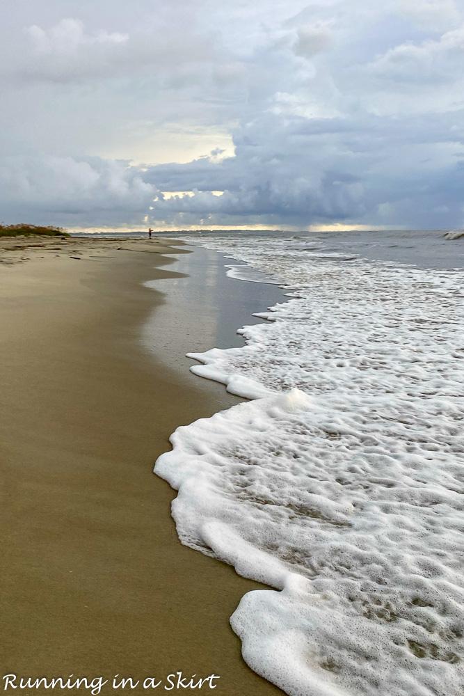 Things to Do in St. Simons Island GA Beach running
