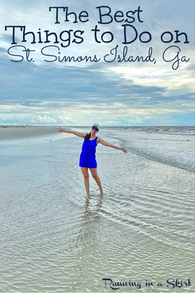 Things to Do in St. Simons Island GA pin