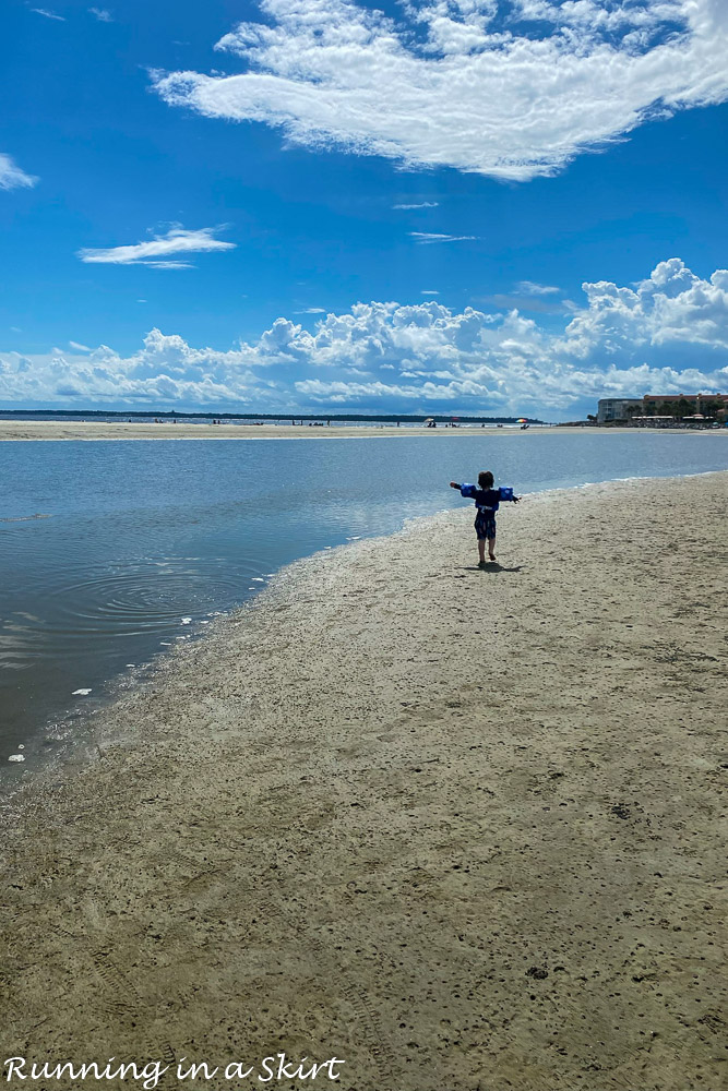 Things to Do in St. Simons Island GA - play in tidepools.